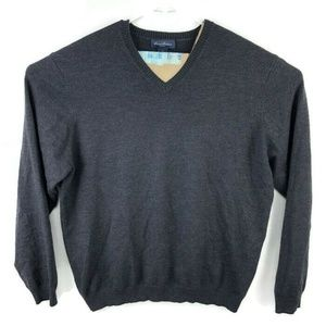 Brooks Brothers V-Neck Sweater Wool